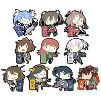 (Full Set) Rubber Key Chain - Kantai Collection