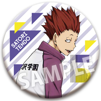 Trading Badge - Haikyuu!! / Tendou Satori