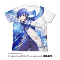 T-shirts - VOCALOID / KAITO Size-L