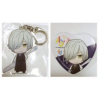 Heart Badge - Trading Acrylic Key Chain - A3! / Mikage Hisoka