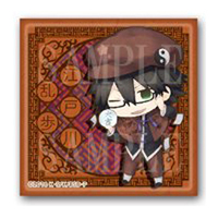 Square Badge - Bungou Stray Dogs / Edogawa Ranpo