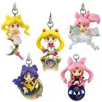 (Full Set) Key Chain - Sailor Moon / Luna & Princess Serenity & Chibiusa (Rini)
