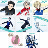 (Full Set) Microfiber Towel - Yuri!!! on Ice / Makkachin & Yuri & Victor & Yuuri