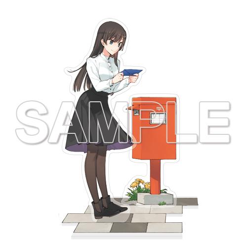 Cute Yagate Kimi ni Naru Bloom Into You Anime Acrylic Stand Figure display model