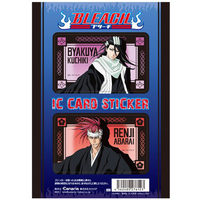 Card Stickers - Bleach / Abarai Renji & Kuchiki Byakuya