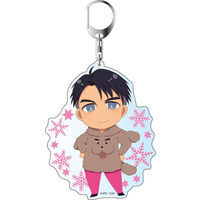 Big Key Chain - Yuri!!! on Ice / Makkachin & Jean Jack Leroy
