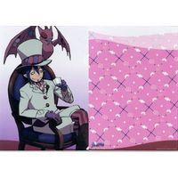 Plastic Folder - Blue Exorcist / Mephisto