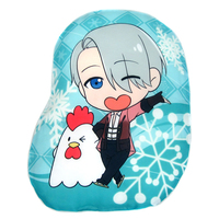 Die-cut Cushion - Yuri!!! on Ice / Victor Nikiforov