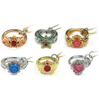 (Full Set) Ring - Sailor Moon / Sailor Mini Moon (Sailor Chibi Moon)