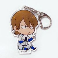 Trading Acrylic Key Chain - Ace of Diamond / Isashiki Jun