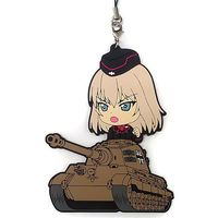 Rubber Strap - Kyun-Chara Illustrations - GIRLS-und-PANZER / Itsumi Erika