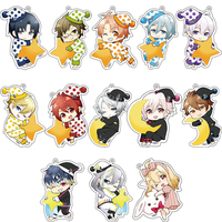 (Full Set) Acrylic Key Chain - IDOLiSH7