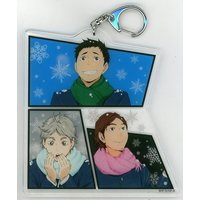 Acrylic Key Chain - Haikyuu!! / Karasuno High School