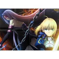 Poster - Fate/stay night / Nanoha & Rider & Saber & Fate