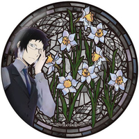 Badge - Bungou Stray Dogs / Akutagawa Ryuunosuke
