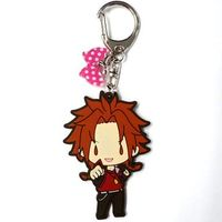 Rubber Key Chain - BROTHERS CONFLICT / Asahina Yusuke