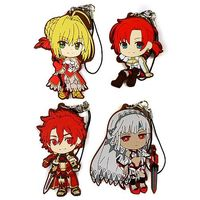 (Full Set) Rubber Strap - Bootie - Fate/Grand Order / Attila & Alexander & Saber (Fate/Extra) Size-7cm