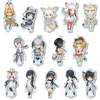 (Full Set) Acrylic stand - Kemono Friends / Fennec & Serval