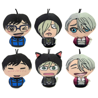 (Full Set) Plushie - Yuri!!! on Ice / Yuuri & Yuri & Victor