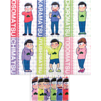 (Full Set) Plastic Folder - Osomatsu-san