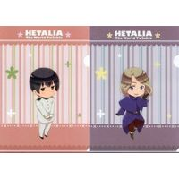 Plastic Folder - Hetalia / France & Japan