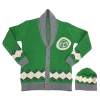 Cap - Cardigan - Jojo Part 4: Diamond Is Unbreakable / Kishibe Rohan Size-L