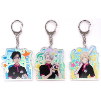 Acrylic Key Chain - Yuri!!! on Ice / Yuri & Victor & Yuuri