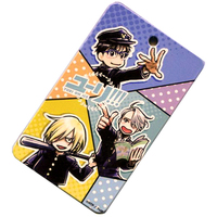 Commuter pass case - Yuri!!! on Ice / Yuri & Yuuri & Victor
