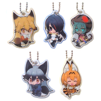 (Full Set) Kirakira Charm - Kemono Friends / Serval