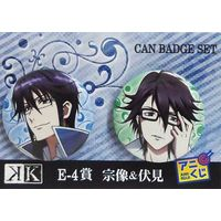 Badge - K (K Project) / Reisi & Saruhiko