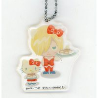 Acrylic Key Chain - Hello Kitty / Yuri Plisetsky