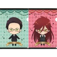 Plastic Folder - Black Butler / William T. Spears & Grell Sutcliff