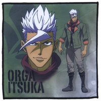 Hand Towel - IRON-BLOODED ORPHANS / Orga Itsuka