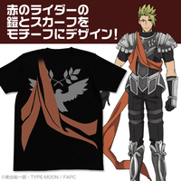 T-shirts - Fate/Apocrypha / Achilles & Rider Size-M
