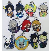 (Full Set) Rubber Strap - Black Butler
