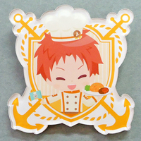 Acrylic Badge - High Speed! / Shiina Asahi