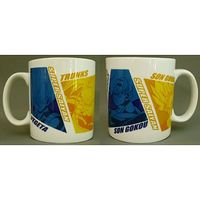 Mug - Dragon Ball / Trunks & Goku & Vegeta & Gohan