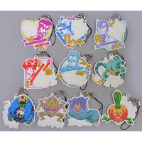 (Full Set) Rubber Strap - Jojo Part 4: Diamond Is Unbreakable