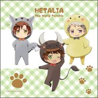 Towels - Hetalia / Spain & Prussia & Romano
