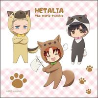 Towels - Hetalia / Italy & Germany & Japan