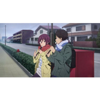 Postcard - High Speed! / Sosuke & Rin