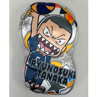 Die-cut Cushion - Haikyuu!! / Karasuno High School & Tanaka