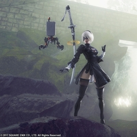 Action Figure - NieR Series / YoRHa 2B & Yorha A2