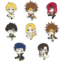 (Full Set) Rubber Strap - B-Project: Kodou*Ambitious