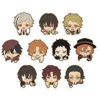 (Full Set) Nokkari Rubber Clip - Bungou Stray Dogs