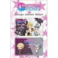 Card Stickers - BROTHERS CONFLICT / Kaname & Iori