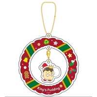 Acrylic Key Chain - IDOLiSH7 / Ousama Pudding (King's Pudding)