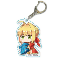 Acrylic Key Chain - Fate/stay night / Nero Claudius (Fate Series) & Saber (Fate/Extra) & Saber