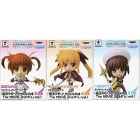 (Full Set) Figure (Kyun-Chara) - Magical Girl Lyrical Nanoha / Hayate & Fate & Nanoha