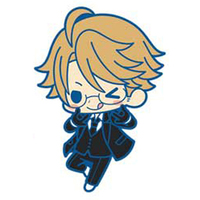 Rubber Strap - Black Butler / Ronald Knox